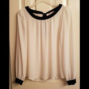 Loft Bow Blouse